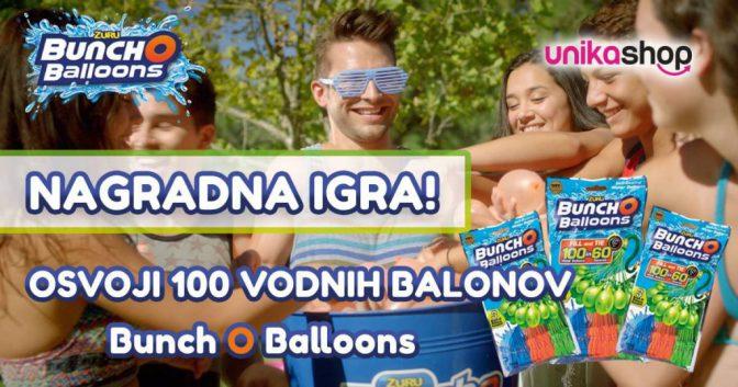 Bunch O Balloons nagradna igra