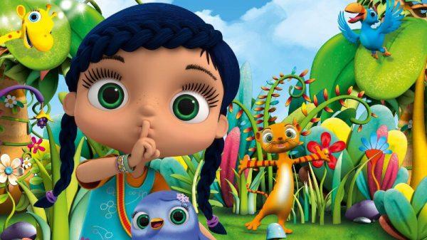 WISSPER je ljubka 7-letna deklica, ki se je rodila s prav čarobnim darom, da lahko govori z živalmi in ima z njimi prav poseben odnos. Ko uporabi magično besedo »ssshhh!« in zaigra na piščal, jo obda čarovnija ter jo odpelje tja, kamor je kakšna žival v težavah.