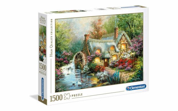 Umik na podeželje - Clementoni sestavljanka/puzzle, 1500 kosov