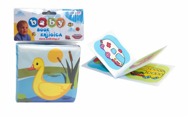 Baby knjigica Unikatoy