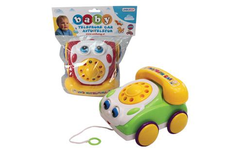 Baby avtotelefon, Unikatoy-Poškodovana embalaža