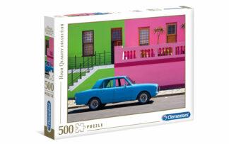 The blue car- Clementoni sestavljanka/puzzle, 500 kosov