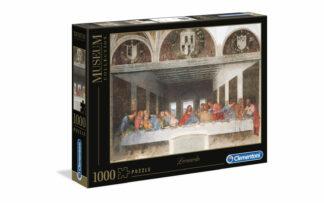 Leonardo: Zadnja večerja - Clementoni sestavljanka/puzzle, 1000 kosov