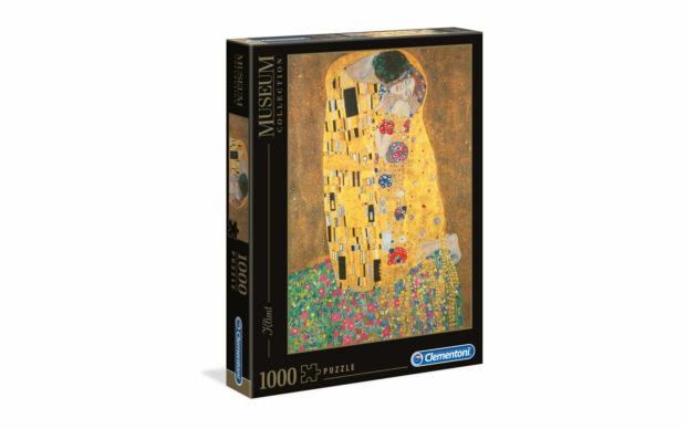 Klimt: Poljub- Clementoni sestavljanka/puzzle, 1000 kosov