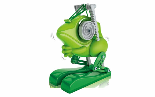 Robot Jumping Bot, Žaba, na baterije, Clementoni-1