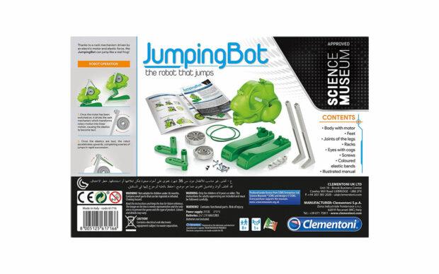 Robot Jumping Bot, Žaba, na baterije, Clementoni-3