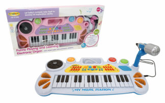 Klaviatura z mikrofonom, 31 tipk