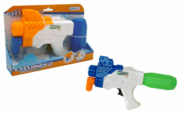 Vodna puška 12 Cyclones, 28 CM-Unikatoy