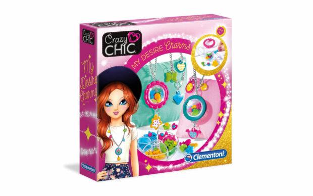 Desire Charms set, Crazy Chic-Clementoni-Poškodovana embalaža