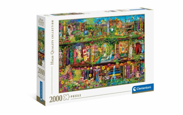Vrtna polica- Clementoni sestavljanka/puzzle, 2000 kosov