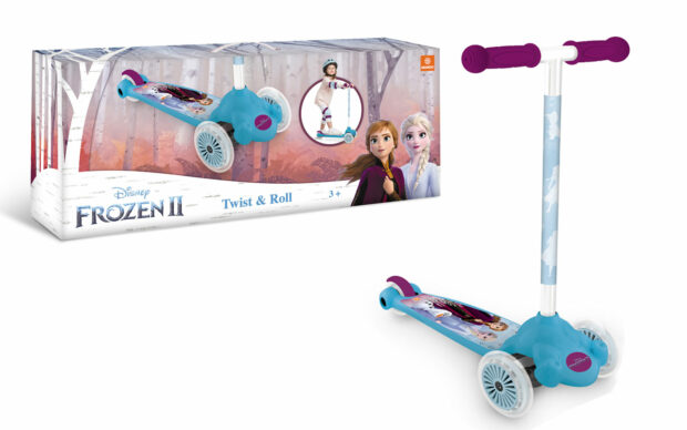 Skiro twist & roll baby Frozen, Mondo
