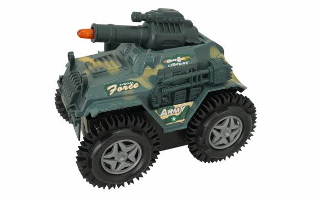 Vojaški džip, 11 cm, na baterije-1