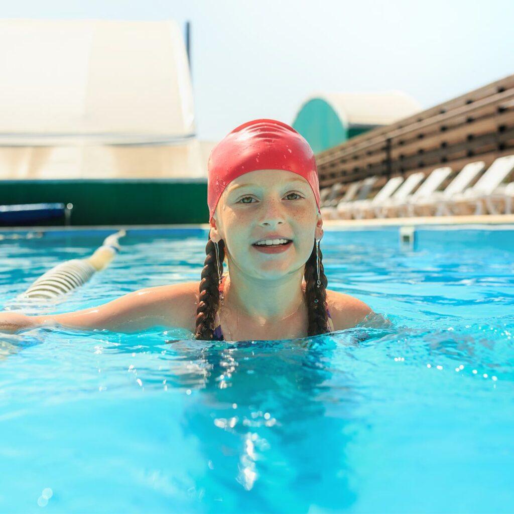 Otroci in plavanje
