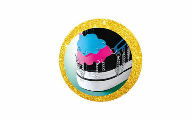 Deco design za vezalke, Crazy Chic-Clementoni-Poškodovana embalaža-2