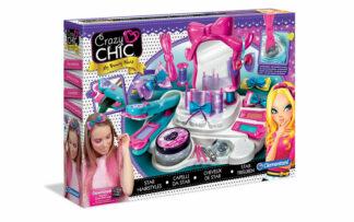 Velik set za oblikovanje las, Crazy Chic-Clementoni-Poškodovana embalaža