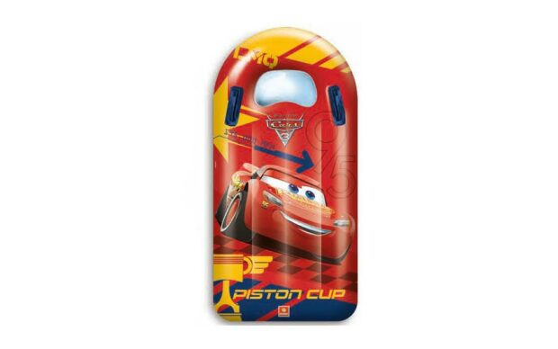 Napihljiva blazina z ročaji Cars 3, 110 x 55 cm- Poškodovana embalaža-1