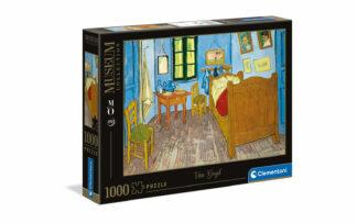 Van Gogh: Spalnica v Arlesu - Clementoni sestavljanka/puzzle, 1000 kosov