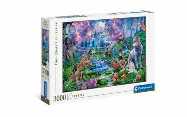 Divjina v mesečini- Clementoni sestavljanka/puzzle, 3000 kosov