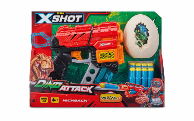 Pištola Dino Extinct, X-Shot, Zuru-2