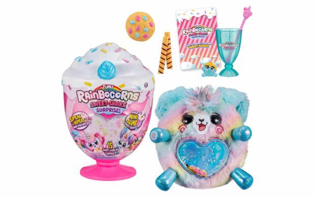 Plišasti Rainbocorns Sweet Shake Surprise, Zuru-Poškodovana embalaža-4