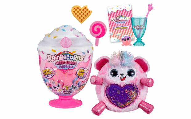 Plišasti Rainbocorns Sweet Shake Surprise, Zuru-Poškodovana embalaža-5