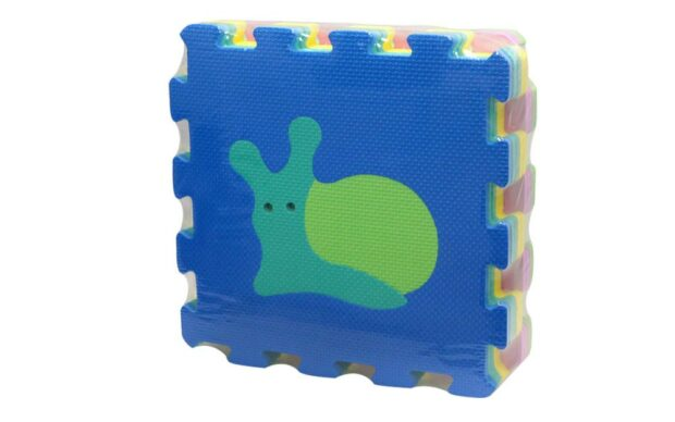 Baby penaste puzzle z motivom živali, 9 kos, Unikatoy-Poškodovana embalaža-1