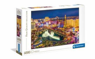 Las Vegas - Clementoni sestavljanka/puzzle, 6000 kosov