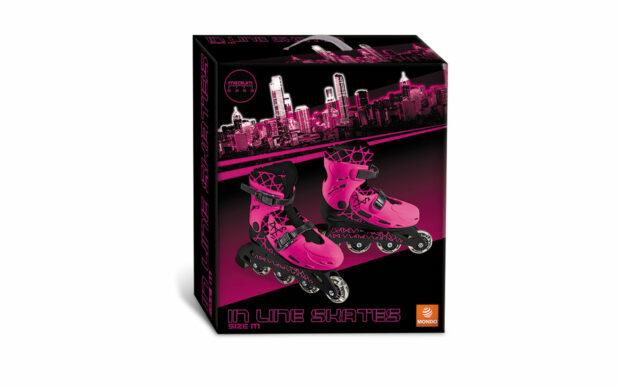 Rolerji v roza barvi, 33-36, Mondo-2