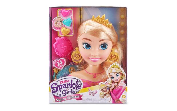 Set punčke Sparkle Girlz-glava, 22 cm, Zuru-2