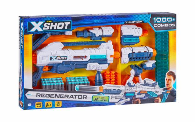 Regenerator-mitraljez Excel, X-Shot, Zuru-1