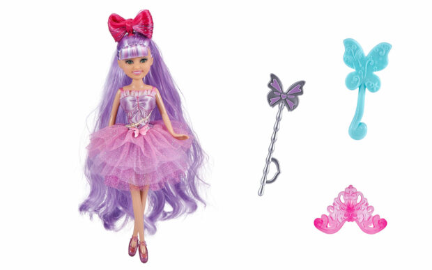 Set punčke Sparkle Girlz-lasje, 27 cm, Zuru-3