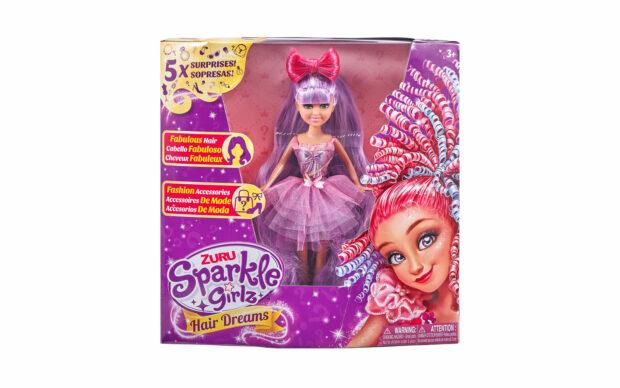 Set punčke Sparkle Girlz-lasje, 27 cm, Zuru-4