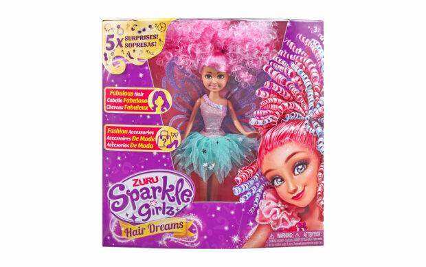 Set punčke Sparkle Girlz-lasje, 27 cm, Zuru-5