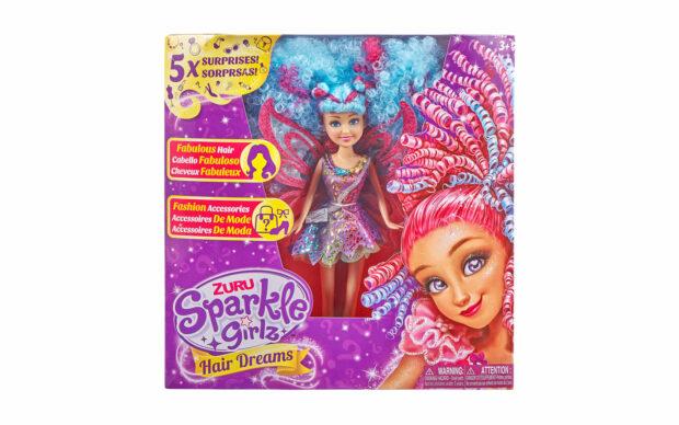Set punčke Sparkle Girlz-lasje, 27 cm, Zuru-6