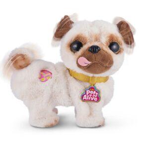 Plesoči kužek Poppy - Mops, na baterije, Pets alive, Zuru