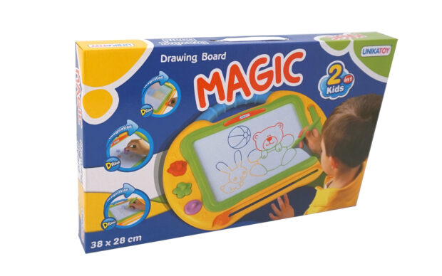 Magnetna tabla Magic PIŠI - BRIŠI-Poškodovana embalaža