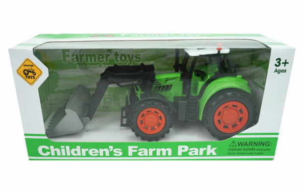 Traktor s kiblo, 25 cm-Poškodovana embalaža-4