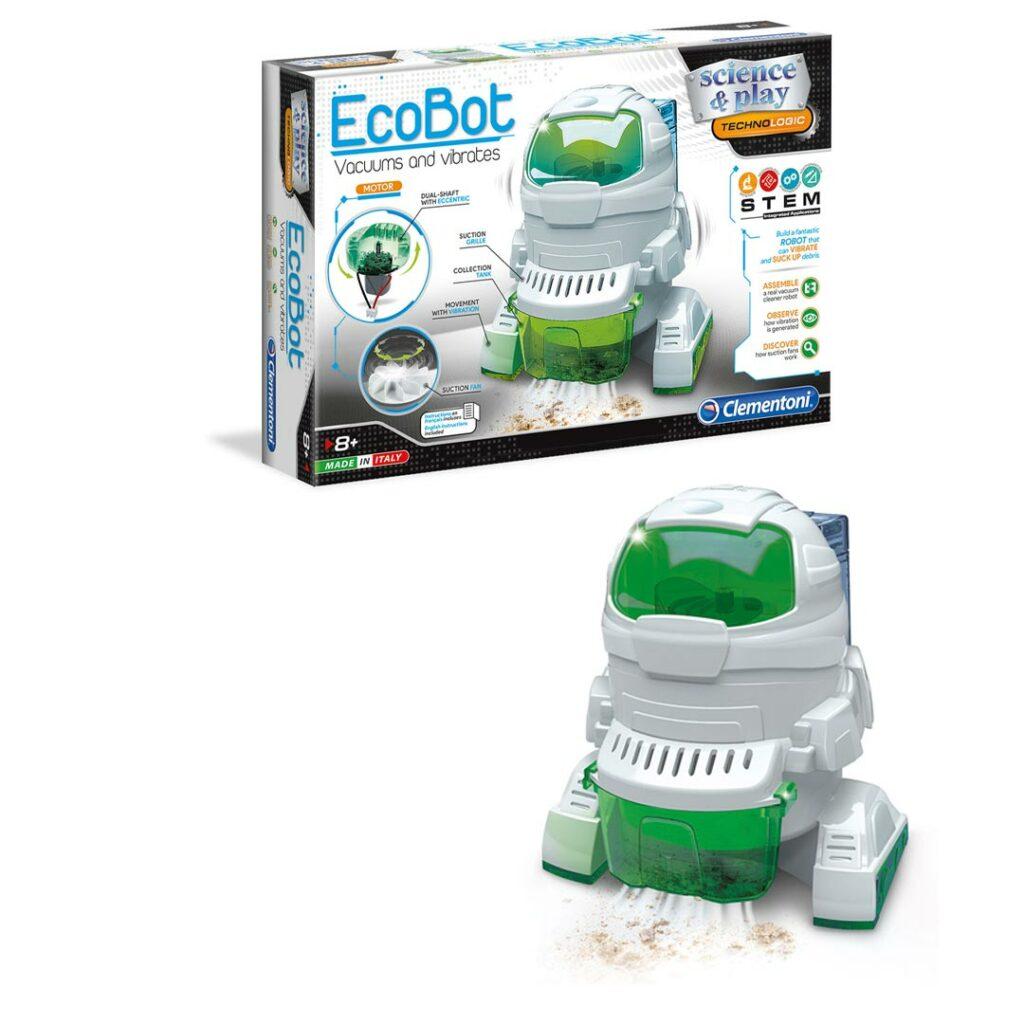 Robot-Ecorobot,-sesalec,-na-baterije,-Clementoni