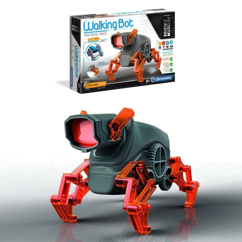 Robot Walking Bot, Bionic, na baterije, Clementoni