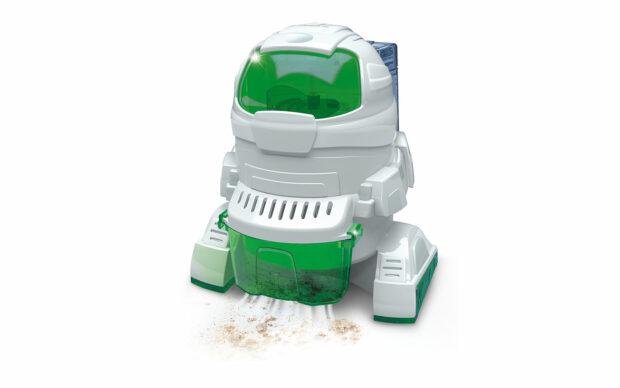 Robot Ecorobot, sesalec, na baterije, Clementoni-1