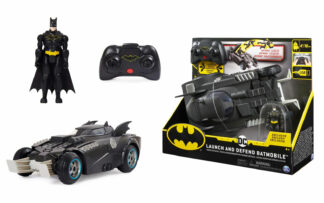 Batmanovo vozilo Batmobile s figurico, na daljinsko upravljanje