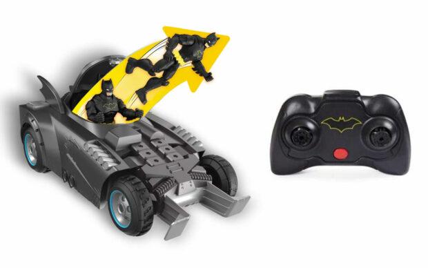 Batmanovo vozilo Batmobile s figurico, na daljinsko upravljanje-3