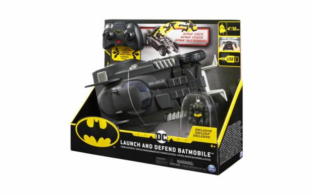 Batmanovo vozilo Batmobile s figurico, na daljinsko upravljanje-4