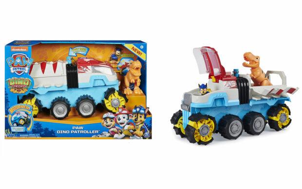 Velik motoriziran tovornjak Dino Patroller, Paw Patrol, set