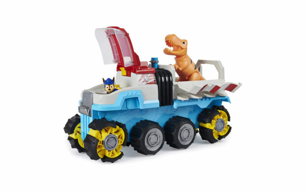 Velik motoriziran tovornjak Dino Patroller, Paw Patrol, set-1