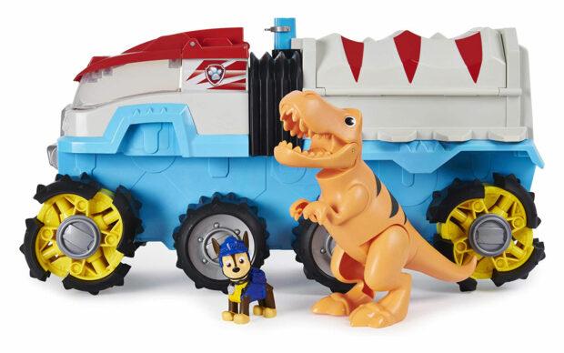 Velik motoriziran tovornjak Dino Patroller, Paw Patrol, set-2