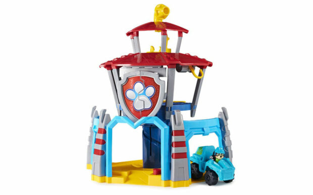 Kontrolni stolp Dino Rescue HQ z vozilom, Paw Patrol, set-1