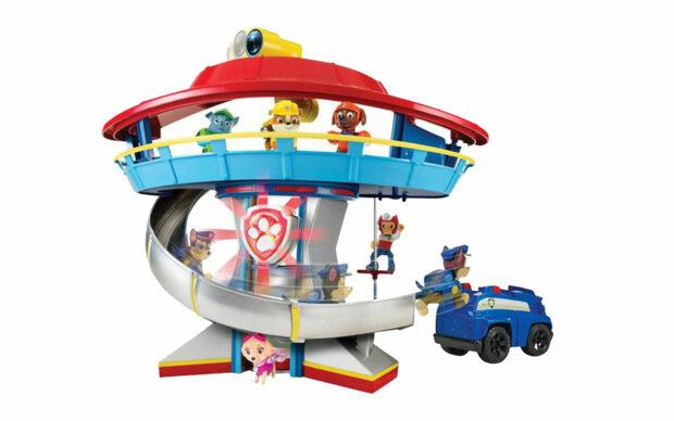 Kontrolni stolp s periskopom, Paw Patrol, set-1