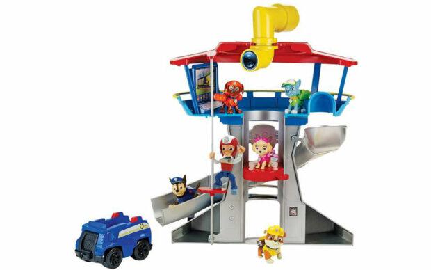 Kontrolni stolp s periskopom, Paw Patrol, set-2
