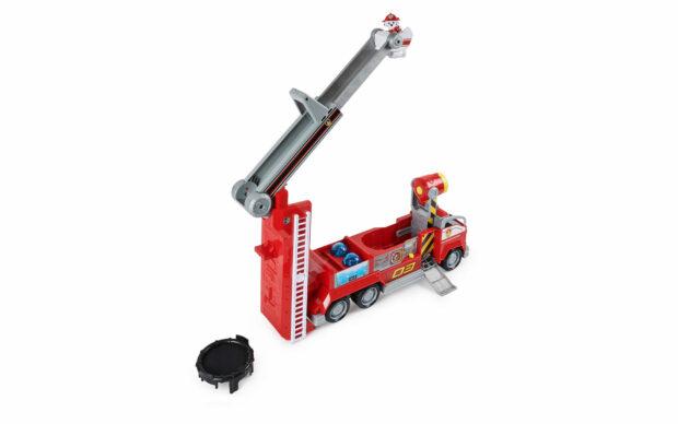 Gasilsko vozilo Marshall transforming City Firetruck, Paw Patrol, set-3